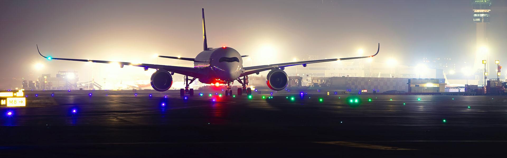 Por que os voos de longa distância ocorrem a noite?